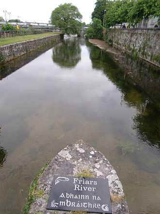 River Corrib - The Friars' Cut.