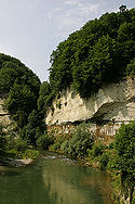 Valley of the Saane near Fribourg