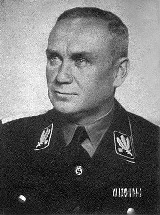 Friedrich Jeckeln - Jeckeln in SS uniform.