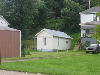 National Register of Historic Places listings in Tyler County, West Virginia - Image: Friendly City Building and Jail
