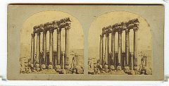 Frith, Francis (1822-1898) - Views in the Holy Land - n. 448-9 - Baalbec.jpg