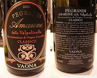 <i>Denominazione di origine controllata</i> quality assurance label for Italian food products