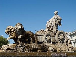Fuente de Cibeles (Mexico City) - Original fountain in Madrid.