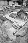 fundering romaanse toren en gothische kolom naar het zuid-oosten gezien - grave - 20083880 - rce