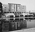 Gödöllői Agrártudományi Egyetem (ma Szent István Egyetem) épülete. Nemzetközi honvédelmi rendezvény. Fortepan 14650.jpg