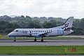 G-LGNE 2 Saab SF.340B FlyBe(Loganair) MAN 14SEP13 (9756232745).jpg