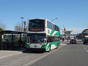 English: GO Transit 8010 at Plat2008-09-13form...