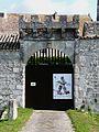 Gageac-et-Rouillac château Gageac mur sud portail.jpg