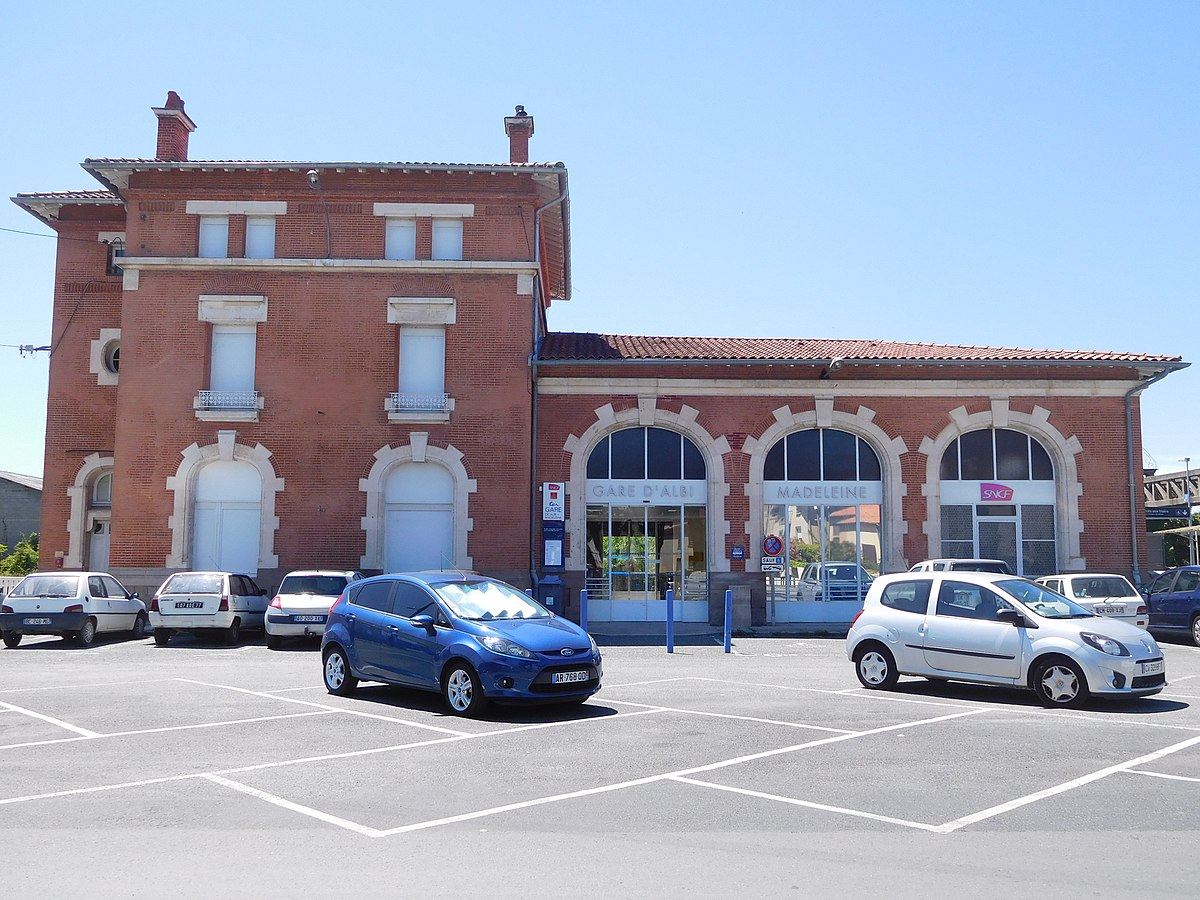 Gare d 39 albi madeleine wikip dia - Office du tourisme d albi ...