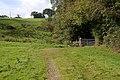 Gate and stile onto Goosefoot Lane - geograph.org.uk - 586140.jpg