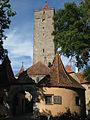 Gate and tower - Rothenburg ob der Tauber.JPG