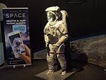 Gateway to space 2016, Budapest, the Space Shuttle space suit 2.jpg
