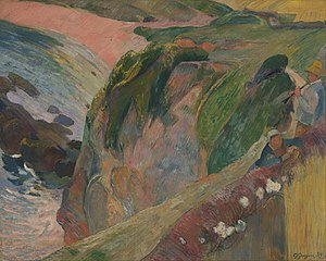 Gauguin, Paul - The Flageolet Player on the Cliff - Google Art Project.jpg