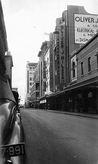 Gawler Place, Adelaide - Gawler Place, 1939