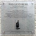 Gedenktafel Bundesallee 156 (Wilmd) Max Levy-Suhl.jpg