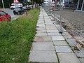 Gehweg auf der Uhlandstraße in Dresden, vor dem HTW-Neubau.jpg