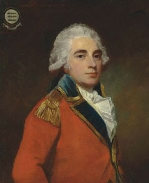 Albemarle Bertie, 9th Earl of Lindsey - Albemarle Bertie, 9th Earl of Lindsey by George Romney