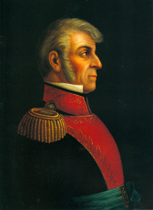 Battle of Zacatecas (1811) - A portrait of General Ignacio López Rayón who commanded the Mexican insurgents in the battle.