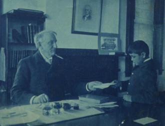 Richard Henry Pratt - General Pratt and a young student.