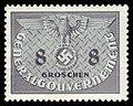 Generalgouvernement 1940 D2 Dienstmarke.jpg