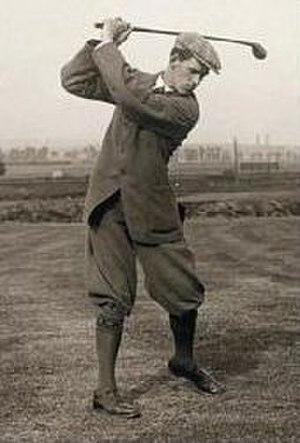 George Duncan (golfer) - Image: George Duncan, professional golfer