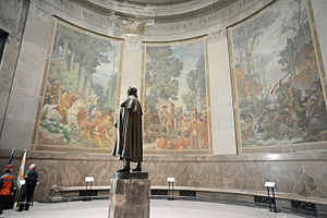 Ezra Winter - Image: George Rogers Clark Memorial left murals