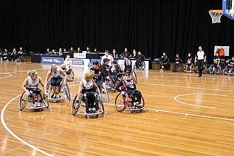 Britt Dillmann - Image: Germany vs Japan women's wheelchair basketball team at the Sports Centre (IMG 3125)