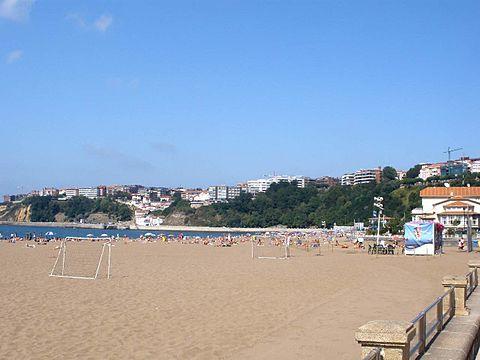 Getxo Neguri Algorta Playa de Ereaga