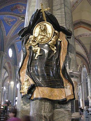 Memorial to Maria Raggi - Image: Gian lorenzo bernini, Cenotafio di Suor Maria Raggi (1647 53)