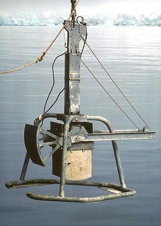 Box corer - Box corer (2,500 cm2 area)