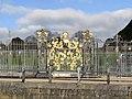 Gilded Gate Coat of Arms at Hampton Court Palace - panoramio.jpg