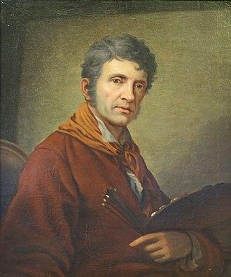 Johann Baptist von Lampi the Elder - Self-portrait (1808/10)
