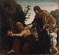 Giovanni Lanfranco (Italian - Elijah Receiving Bread from the Widow of Zarephath - Google Art Project.jpg