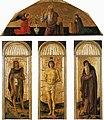 Giovanni bellini e altri, trittico di san sebastiano.jpg
