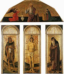 Triptych of Saint Sebastian