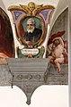 Giovanni da san giovanni, san pietro igneo, tra putti con emblemi vallombrosani di nicodemo ferrucci, 1634 circa, 03.jpg