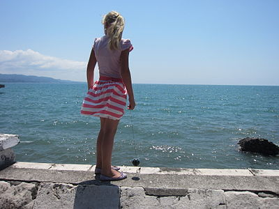 Girl in Sukhumi quay.JPG