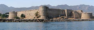 Kyrenia - Panorama of Kyrenia Castle (Girne Kalesi)