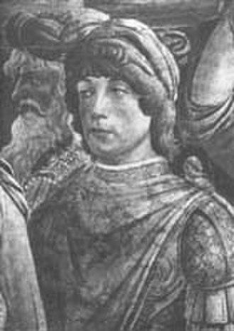 Girolamo Riario - Count Girolamo Riario.