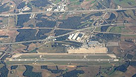 Girona-Costa Brava Airport - View from plane.JPG