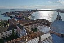 Giudecca vista da Basilica di San Giorgio Maggiore Venezia.jpg