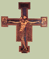 Crucifix de la basilique San Domenico de Bologne
