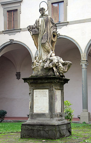 Giuseppe Piamontini -  San Bernardo in cloister of the Archbishop's seminary in Florence