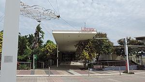 Gladstone Region - Entrance to Gladstone City Library, 2014