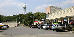 Downtown Glen Rose, in 2005