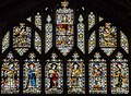 Gloucester Cathedral, Stained glass window (west quire) (21814010799).jpg