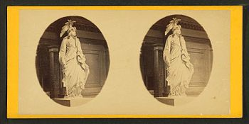 Goddess of Liberty, U.S. Capitol, by G. D. Wakely