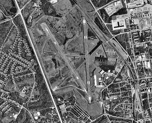 Godman Army Airfield - USGS aerial image, 29 March 1998