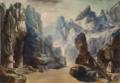 Goldmark - Merlin - Felsengegend - Hermann Burghart 1886.png