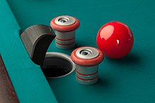 Bumper Pool Wikipedia - Pool table with pegs